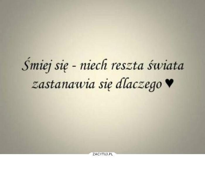 Śmiej się :)!